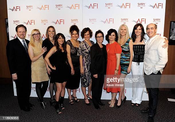 AFI President Bob Gazzale directors Jennifer Glynn Courtney Rowe Kimberly McCullough Rachel Goldberg Amy French Guest Speaker/director Lisa...