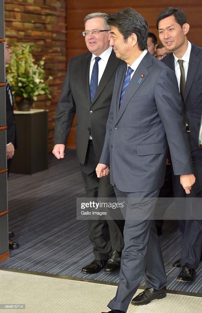 Summit Meeting between Japan and Poland