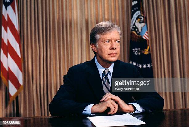 President Carter Speaking About the Iran Rescue Fiasco