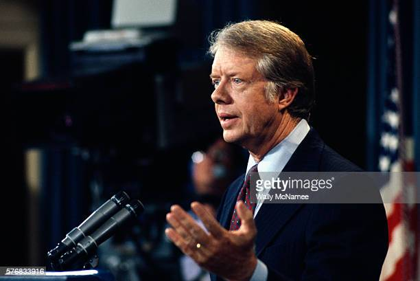 President Carter Speaking at Press Conference