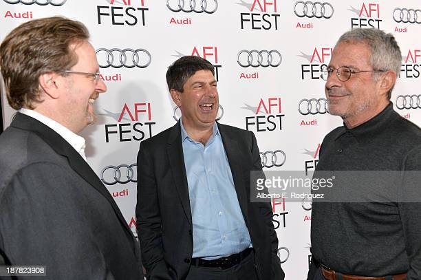 President & CEO American Film Institute Bob Gazzale, Chairman of Universal Filmed Entertainment Jeff Shell and Ron Meyer, Vice-Chairman, NBCUniversal...