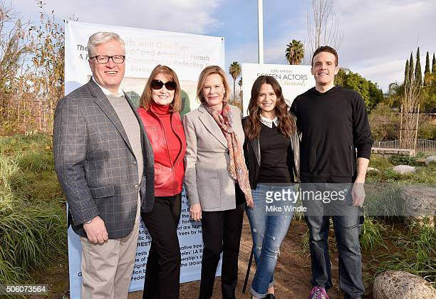 President CEO American Forests Scott Steen SAG Awards Executive Producer Kathy Connell SAG Awards Committee Chair JoBeth Williams Actress Katie Lowes...