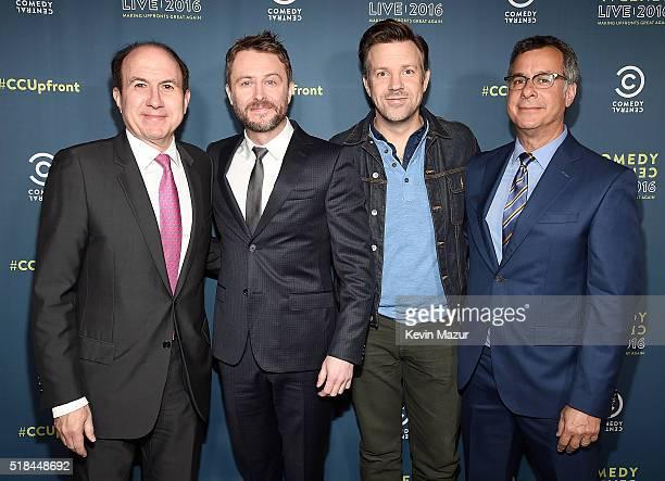 President CEO and Chairman of Viacom Philippe Dauman Chris Hardwick Jason Sudeikis and Kent Alterman President Comedy Central Original Programming...