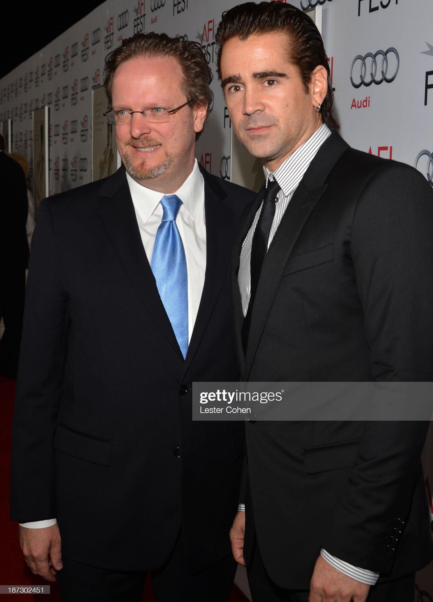 ¿Cuánto mide Colin Farrell? - Altura - Real height President-ceo-bob-gazzale-and-actor-colin-farrell-attend-the-premiere-picture-id187302451?s=2048x2048