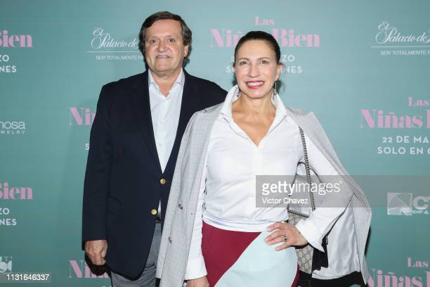 President CEO Global Card Services Mexico Brazil Argentina Latin America and Caribeean of American Express Jose Maria Zas and his wife Maribe...