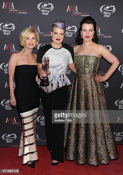 AAFA President CEO Juanita D Duggan Kelly Osbourne and Debi Mazar attend the 2015 AAFA American Image Awards on April 27 2015 in New York City