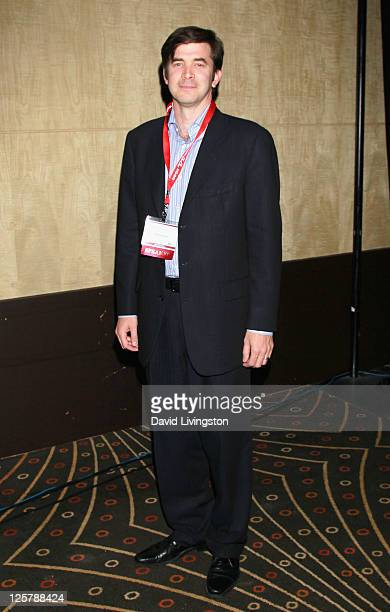 President & CEO of Poynt Corporation Andrew Osis attends day 2 of the 2011 LA Mobile Entertainment Summit in Association with Variety at Hollywood...