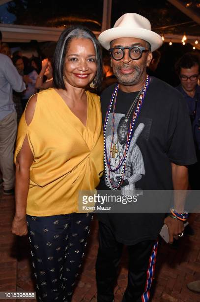 President CEO of the Apollo Theater Jonelle Procope and Spike Lee attend Apollo in the Hamptons 2018 Hosted by Ronald O Perelman at The Creeks on...