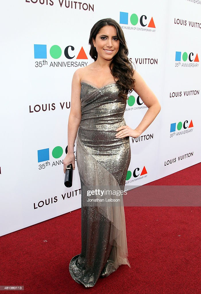 MOCA's 35th Anniversary Gala Presented By Louis Vuitton At The Geffen Contemporary At MOCA - Red Carpet