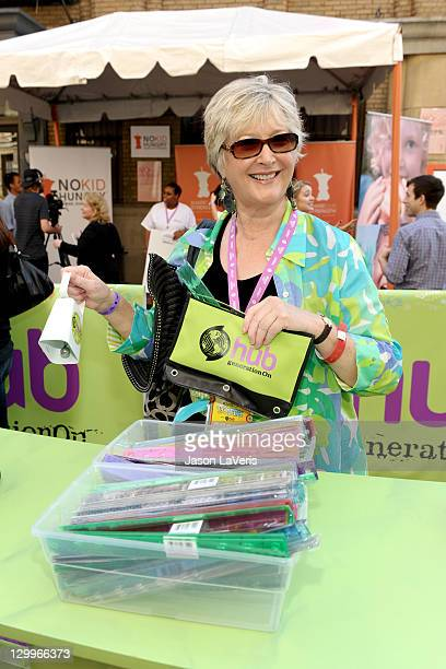 President CEO of The Hub Margaret Loesch attends Variety's 5th annual Power Of Youth event presented by The Hub at Paramount Studios on October 22...