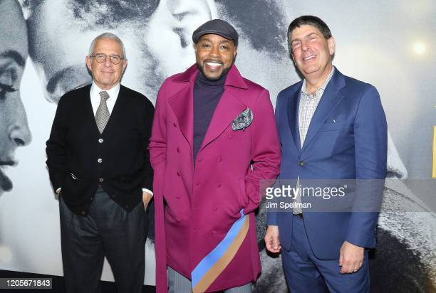 President CEO of Universal Studios Ron Meyer producer Will Packer and guest attend the The Photograph world premiere at SVA Theater on February 11...