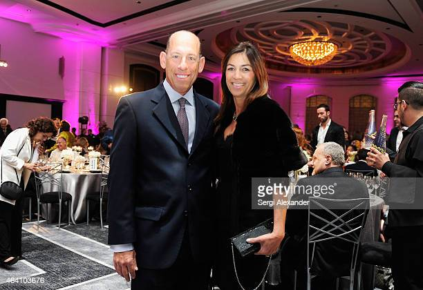 President CEO Southern Wine Spirits of America Wayne E Chaplin and Arlene Chaplin attend the Tribute Dinner honoring Juan Mari Arzak and Ted Baseler...