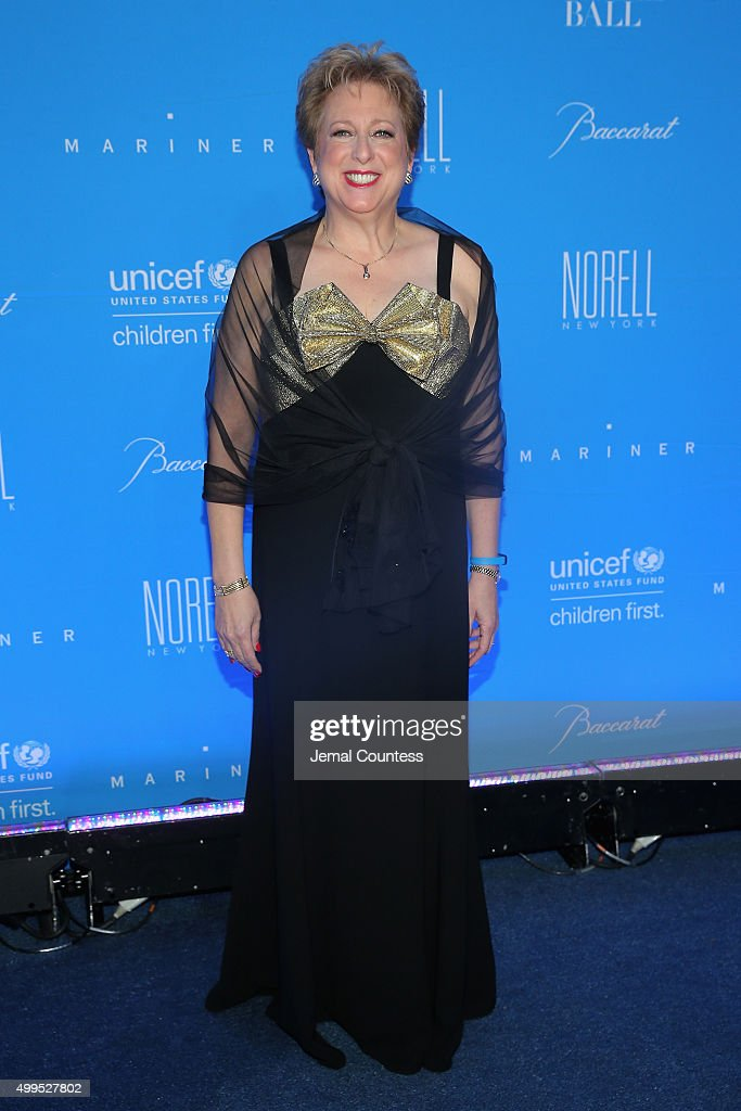 President & CEO, U.S. Fund for UNICEF Caryl Stern attends the 11th Annual UNICEF Snowflake Ball Honoring Orlando Bloom, Mindy Grossman And Edward G. Lloyd at Cipriani, Wall Street on December 1, 2015 in New York City.