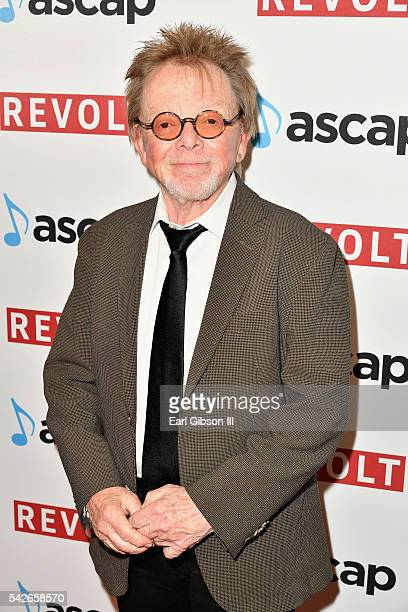 President Chairman Paul Williams attends the 2016 ASCAP Rhythm Soul Awards at the Beverly Wilshire Four Seasons Hotel on June 23 2016 in Beverly...