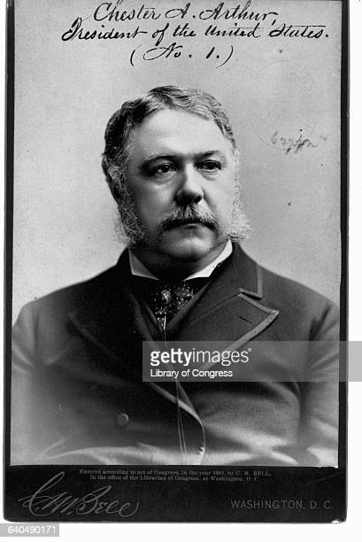 President Chester A Arthur