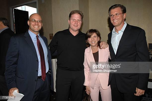President Chris Silbermann, ABC Entertainment President Stephen McPherson, CBS Entertainment President Nina Tassler and Fox Broadcasting Company...