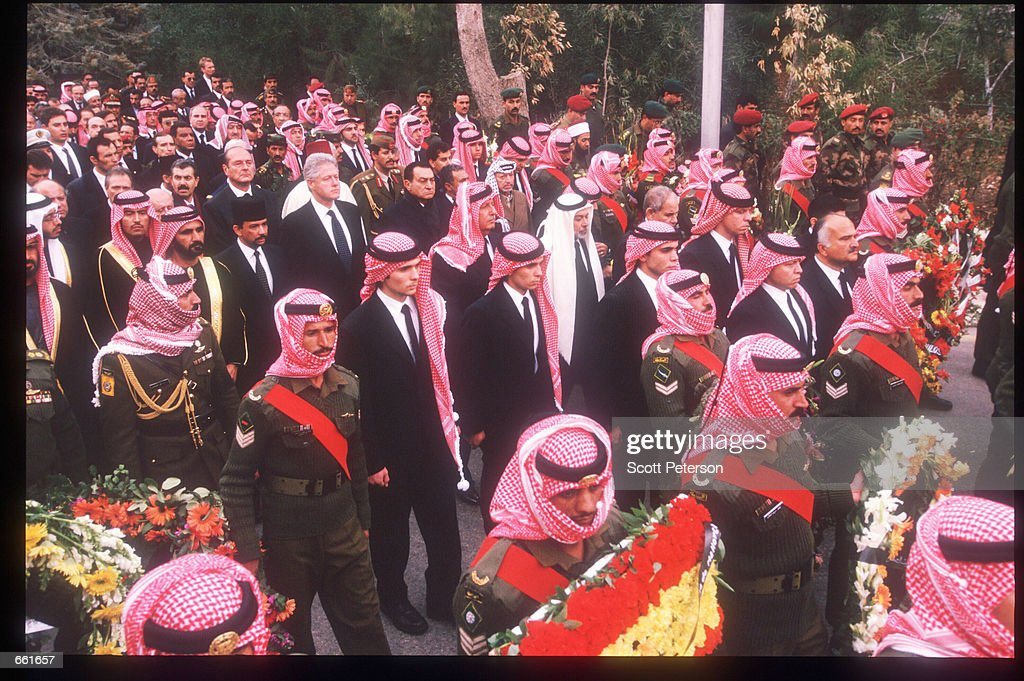 Jordan Mourns Death Of King Hussein : News Photo