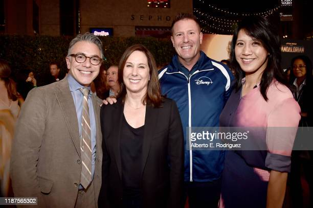 President Content and Marketing for Disney Ricky Strauss Executive producer Kathleen Kennedy Chairman of DirecttoConsumer International division of...