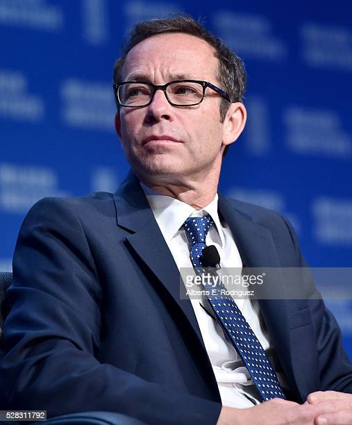President Creative Artists Agency Richard Lovett speaks onstage at the 2016 Milken Institute Global Conference on May 04 2016 in Beverly Hills...