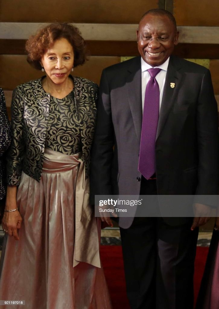 President Cyril Ramaphosa And His Wife Tshepo Motsepe During The News Photo Getty Images