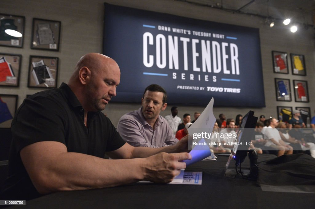 Dana White's Tuesday Night Contender Series: Mayes v Crowder : News Photo