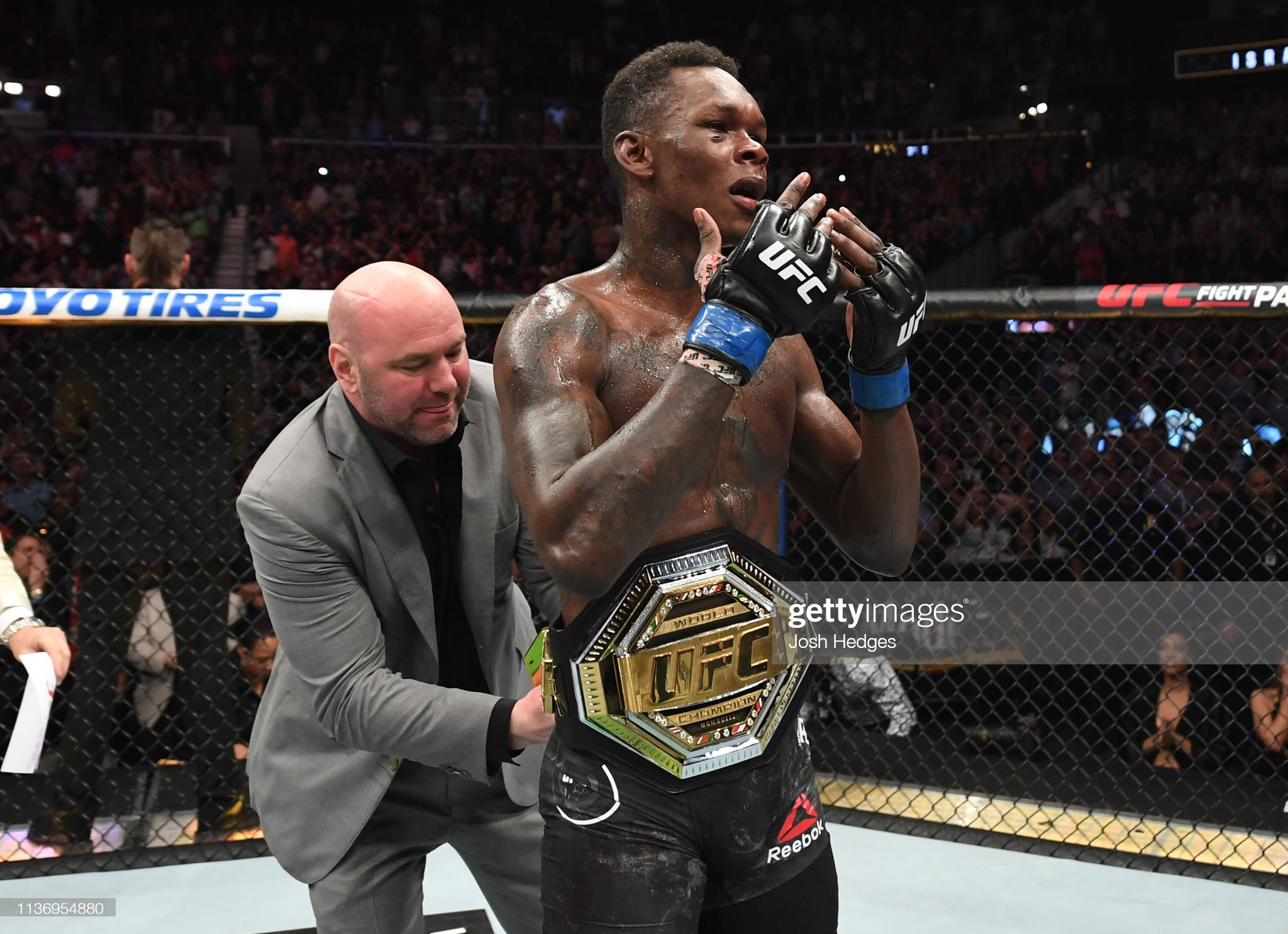 UFC 236: Gastelum v Adesanya : News Photo