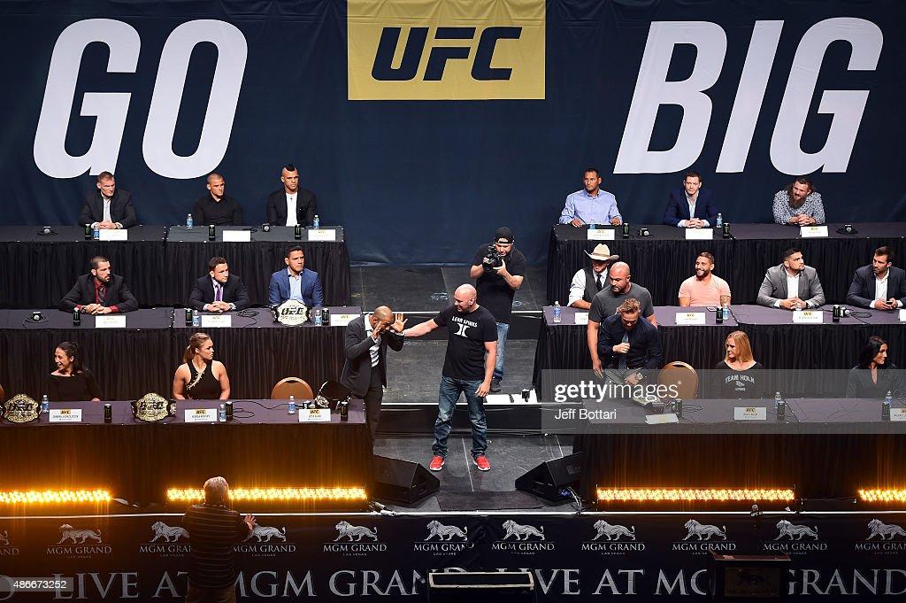 UFC Go Big Launch Event : News Photo