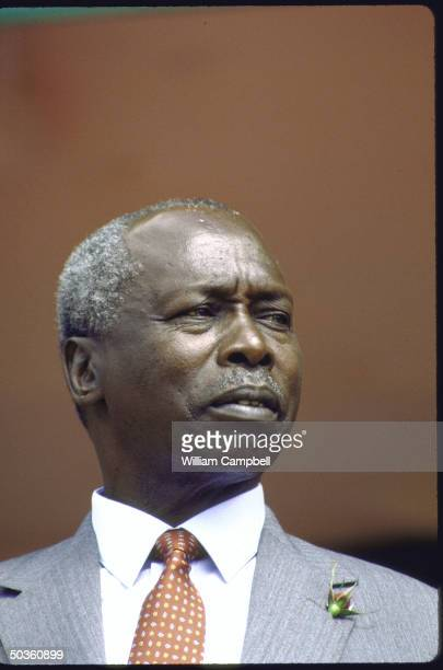 President Daniel Arap Moi at national celebration