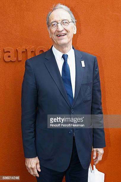 President Denis Masseglia attends day ten of the French Open 2016 at Roland Garros on May 31 2016 in Paris France