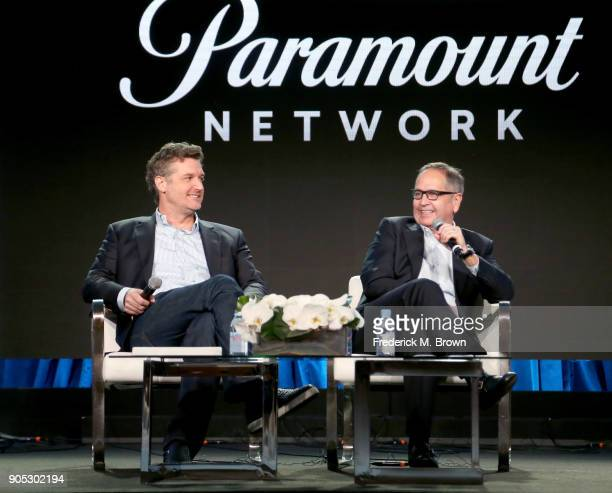 President Development and Production Paramount Network TV Land and CMT Keith Cox and President Paramount Network TV Land and CMT Kevin Kay speak...