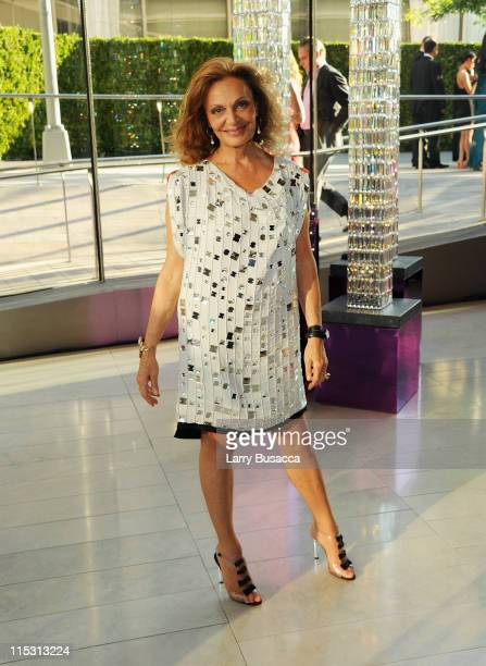 President Diane von Furstenberg attends the 2011 CFDA Fashion Awards at Alice Tully Hall Lincoln Center on June 6 2011 in New York City