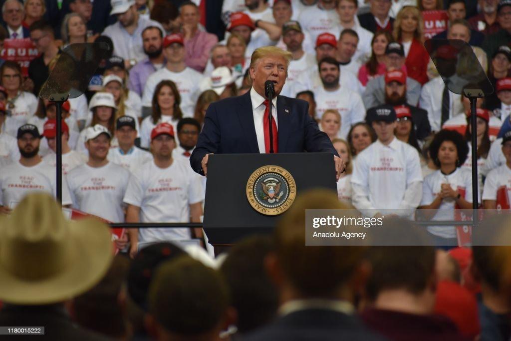 U.S. President Donald J. Trump : News Photo