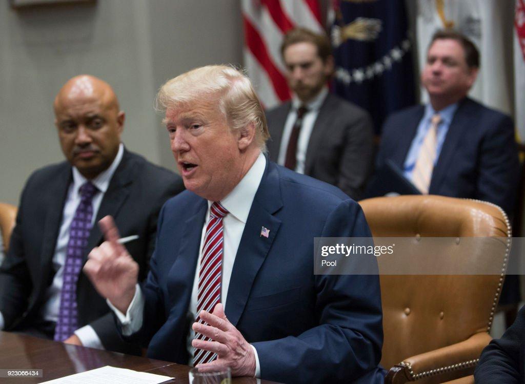 Trump Talks School Safety At White House
