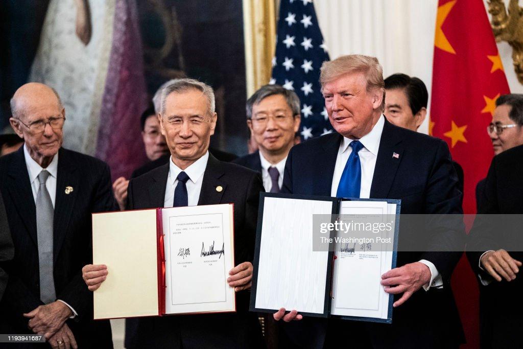 President Donald J. Trump... : News Photo