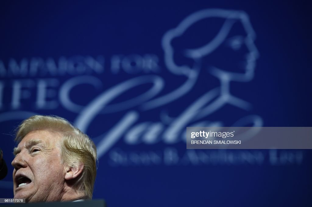 "President Trump Speaks At The ""Campaign for Life"" Gala Hosted By The Susan B. Anthony List"