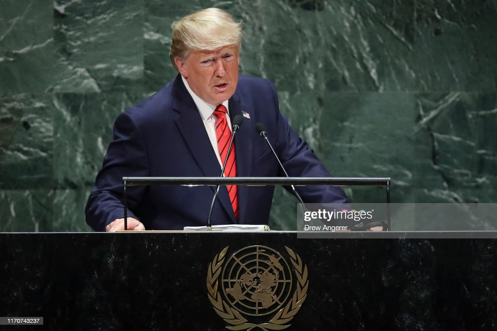 World Leaders Address United Nations General Assembly : News Photo