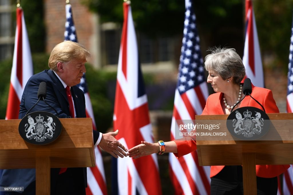 Trump's Visit To The U.K. Day 2