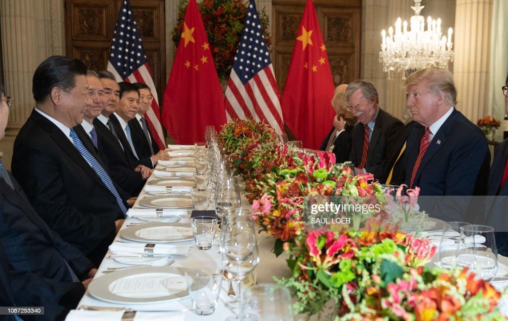 ARGENTINA-G20-SUMMIT-TRUMP-XI : News Photo