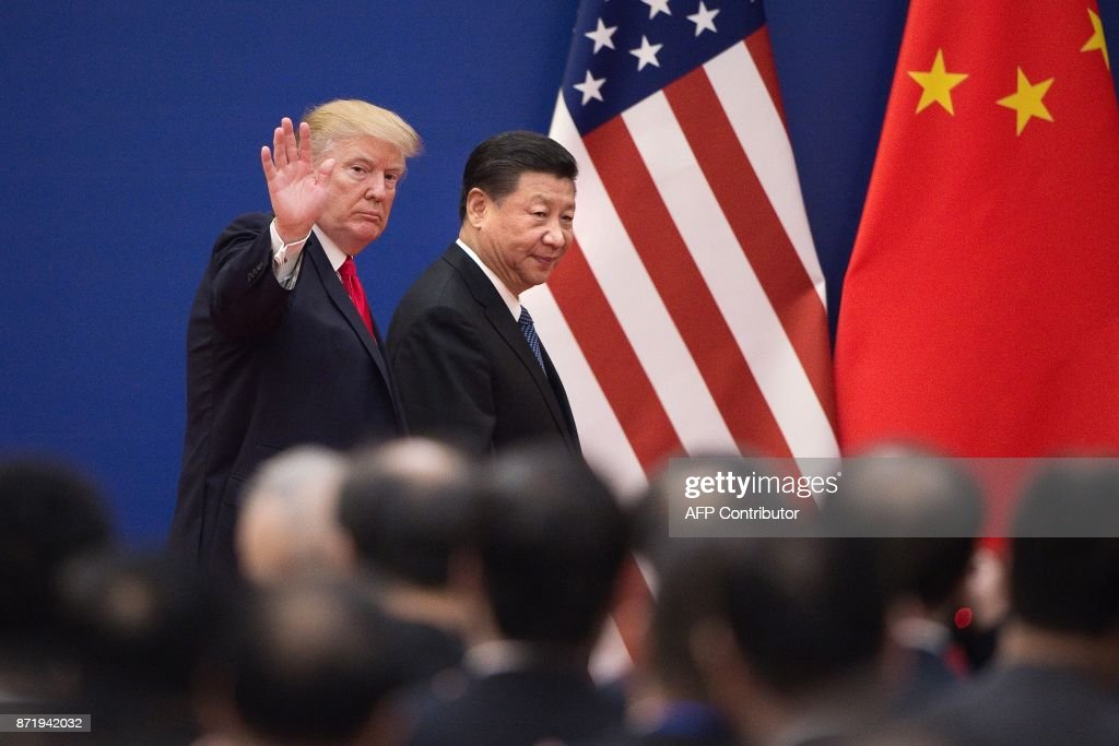 TOPSHOT-CHINA-US-TRUMP-POLITICS-DIPLOMACY : News Photo