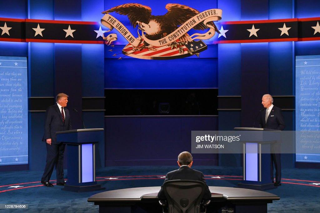 US-VOTE-DEBATE : News Photo