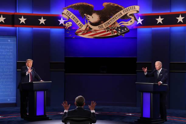 OH: Donald Trump And Joe Biden Participate In First Presidential Debate