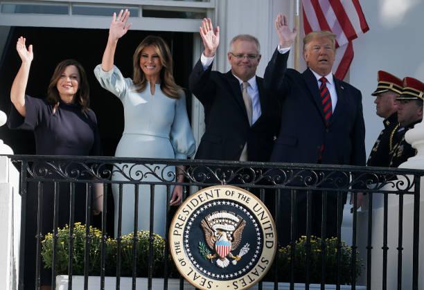 DC: President Trump Welcomes Australian Prime Minister Scott Morrison To Washington On State Visit