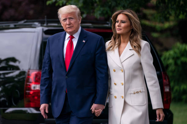 DC: President Trump Departs White House For Memorial Day Ceremony In Baltimore