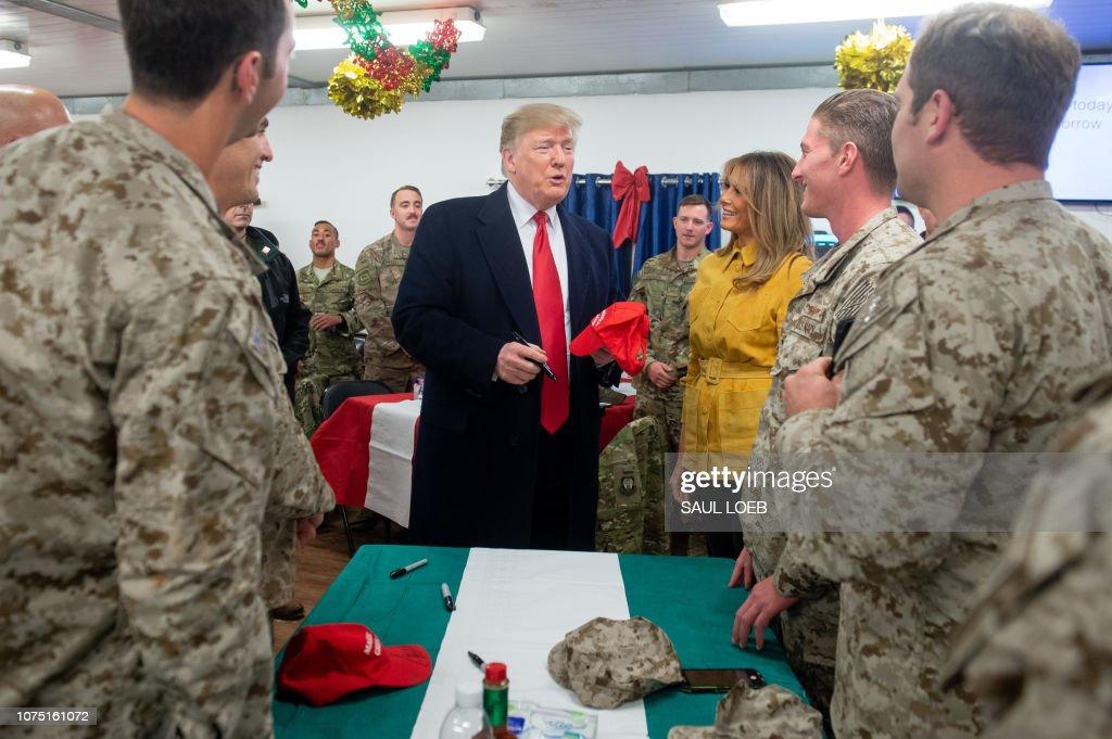US-IRAQ-POLITICS-TRUMP-diplomacy : Nachrichtenfoto