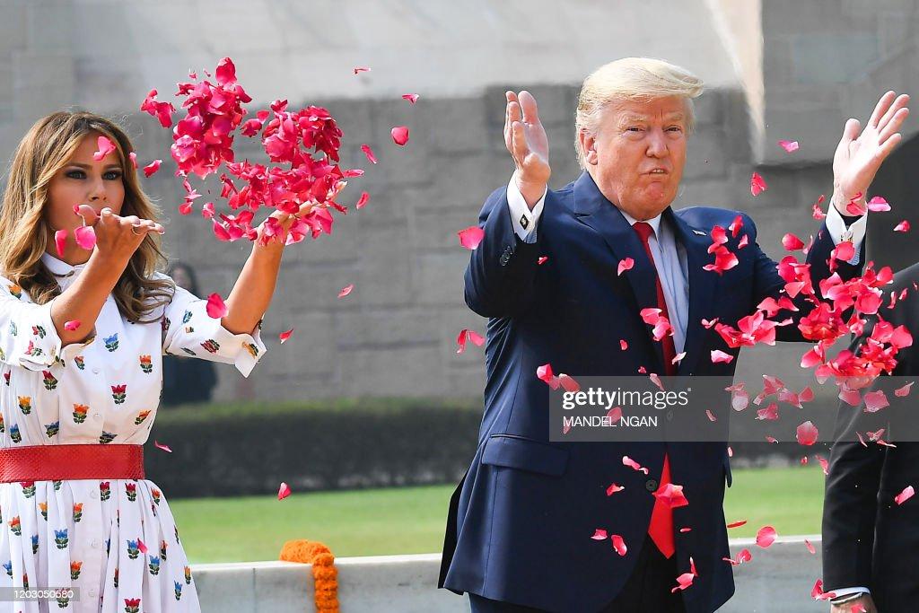 INDIA-US-DIPLOMACY-TRUMP : News Photo