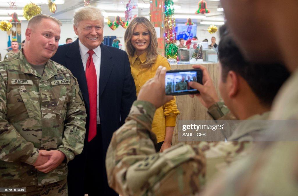US-IRAQ-POLITICS-TRUMP-diplomacy : News Photo