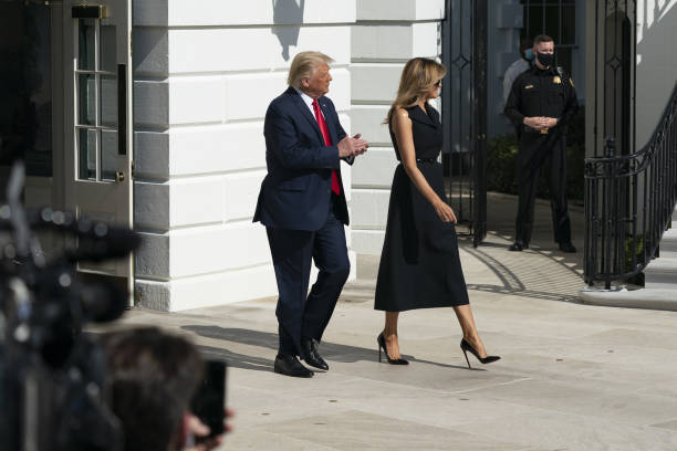 DC: President Trump Departs White House For Tennessee