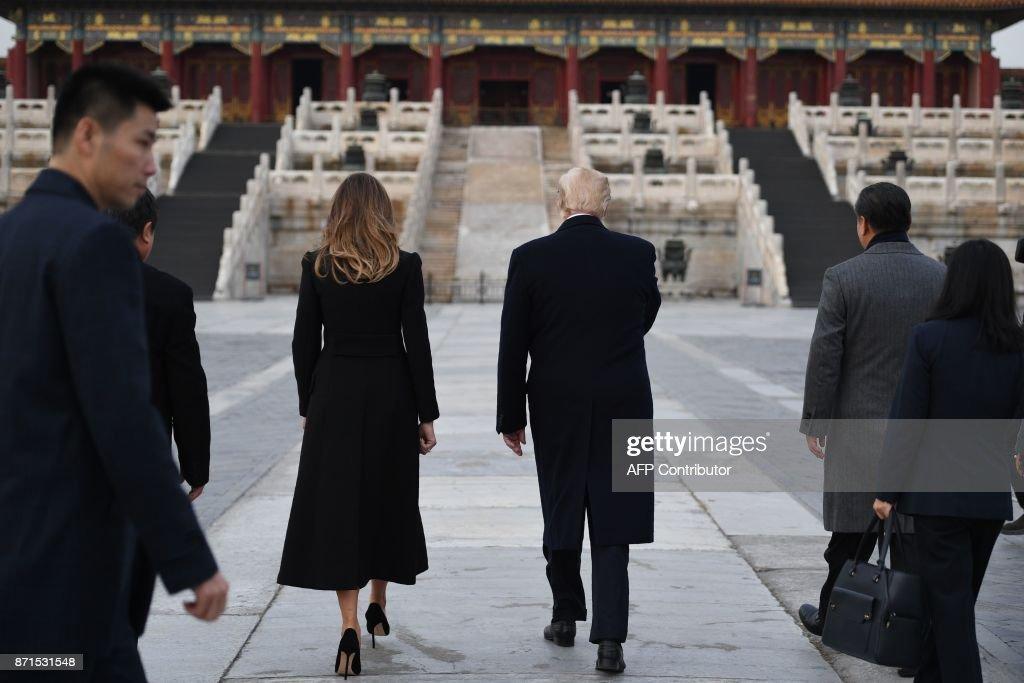 CHINA-US-TRUMP-POLITICS-DIPLOMACY : News Photo