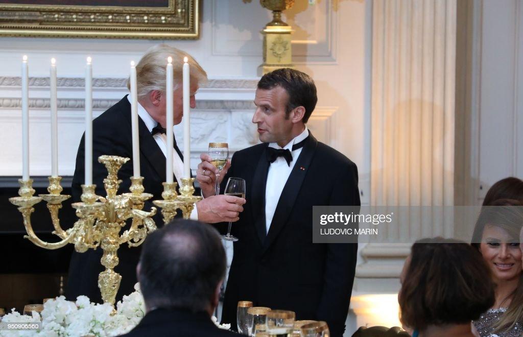 US-FRANCE-DIPLOMACY-ARRIVALS : News Photo