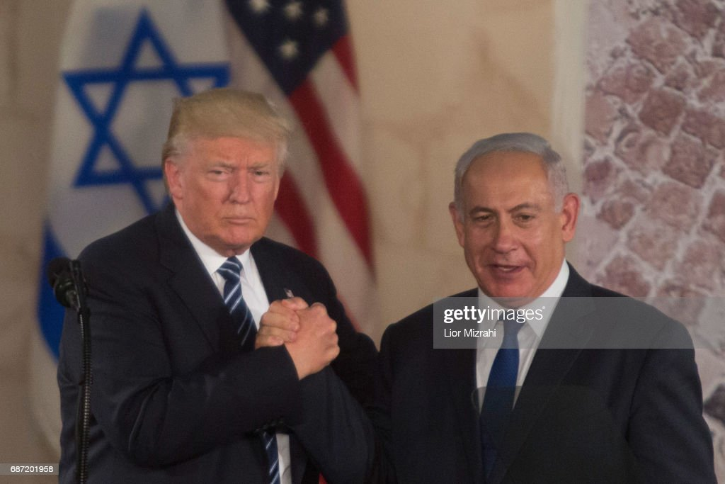 US President Donald Gives A Speech At Israel Museum : News Photo
